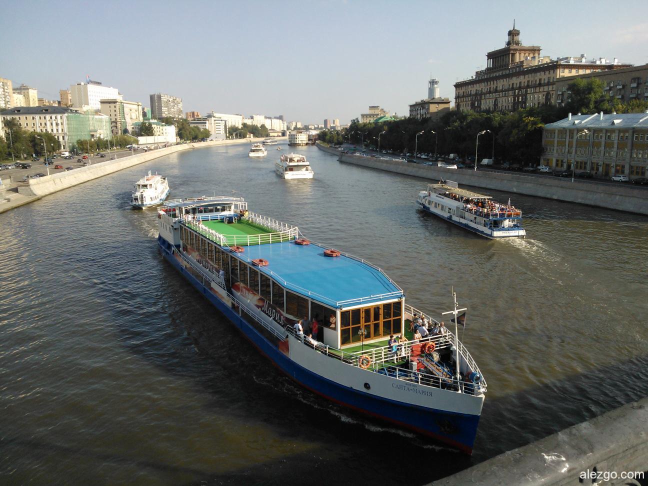 Москва судоходная