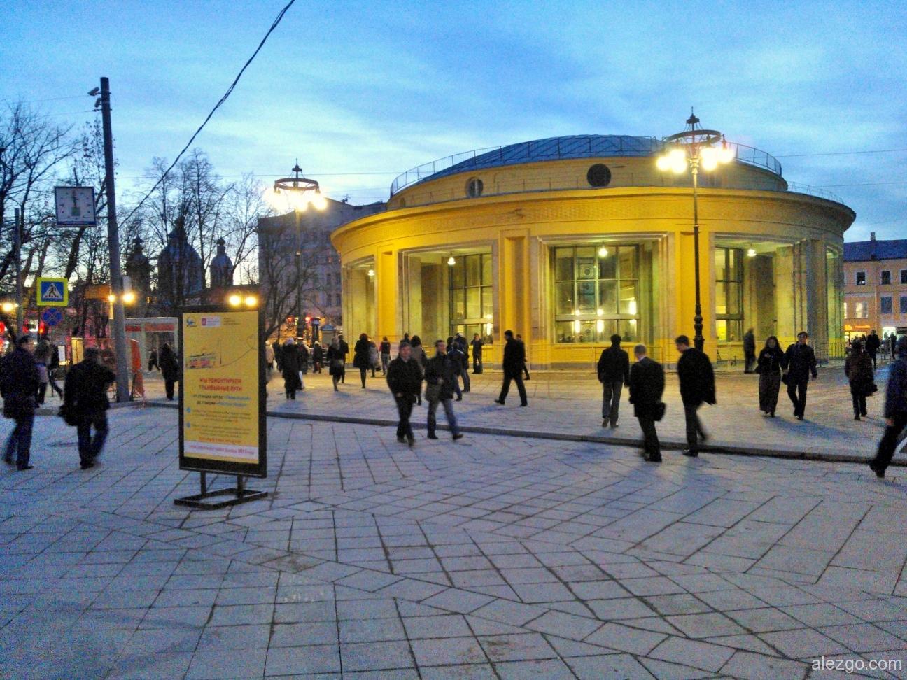 пешеходная зона, новокузнецкая