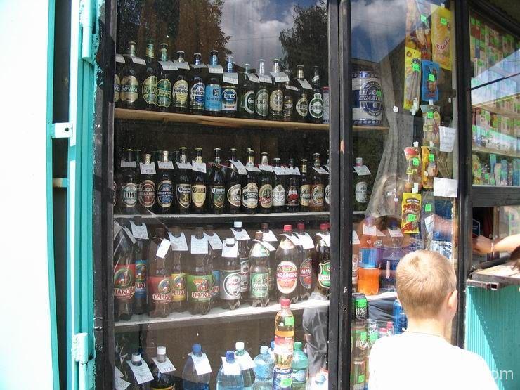 продажа алкоголя в ларьках