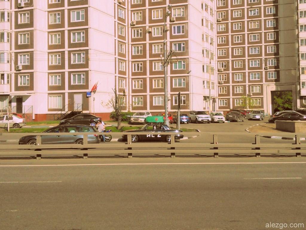 автомобиль-танк, 9 мая, день победы