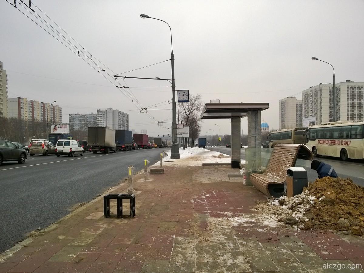 каширское шоссе, новые остановки