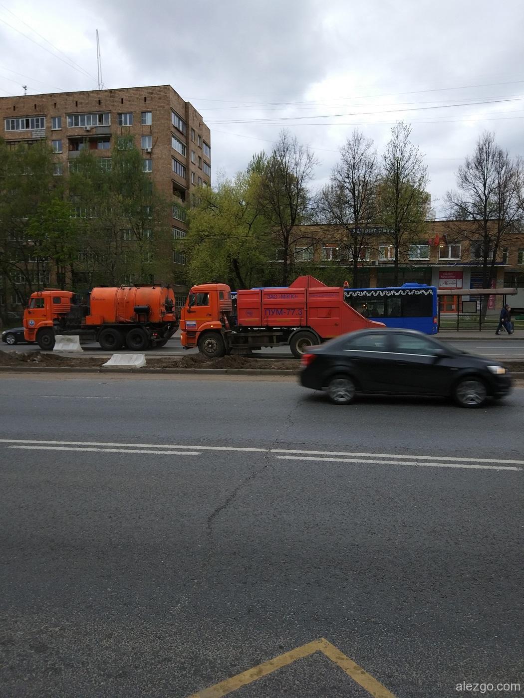 грузовики в москве
