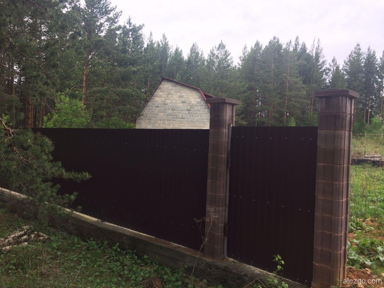серые зоны, украли забор