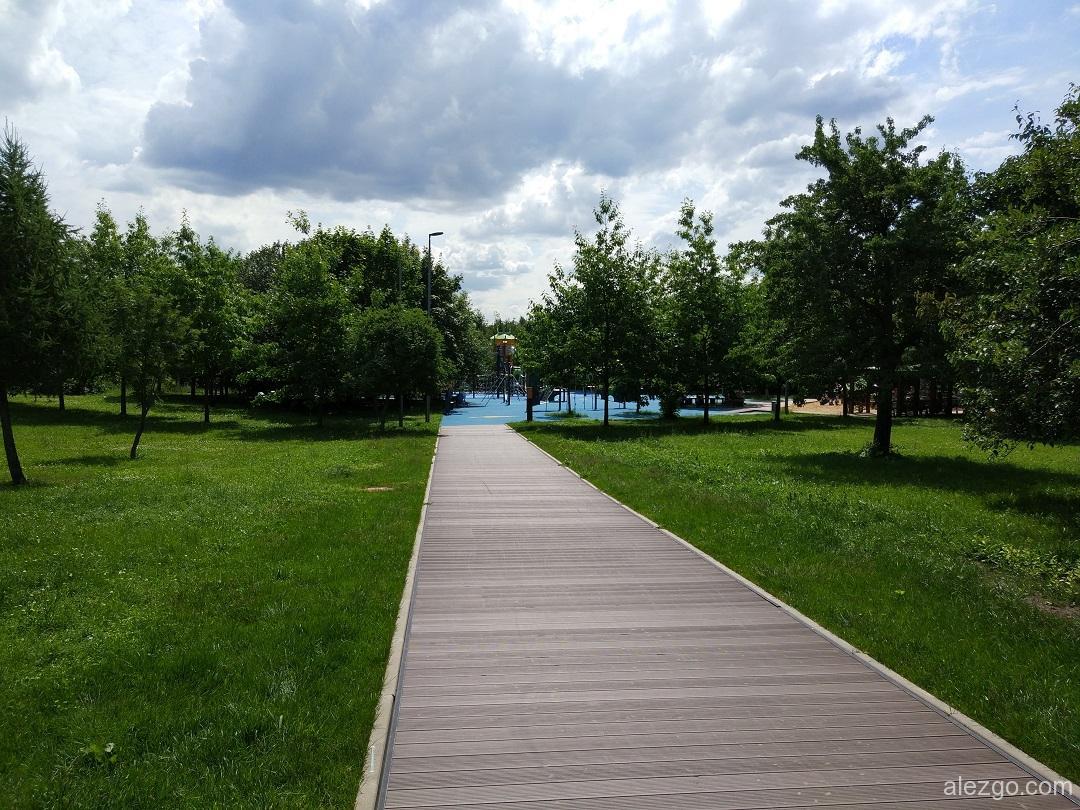 парк садовники