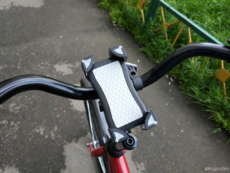 универсальный держатель для смартфона на велосипед