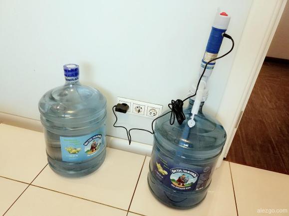 доставка воды бутильков