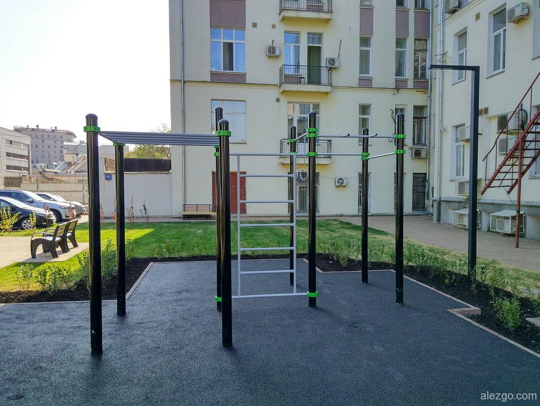 новые спортивные площадки в москве