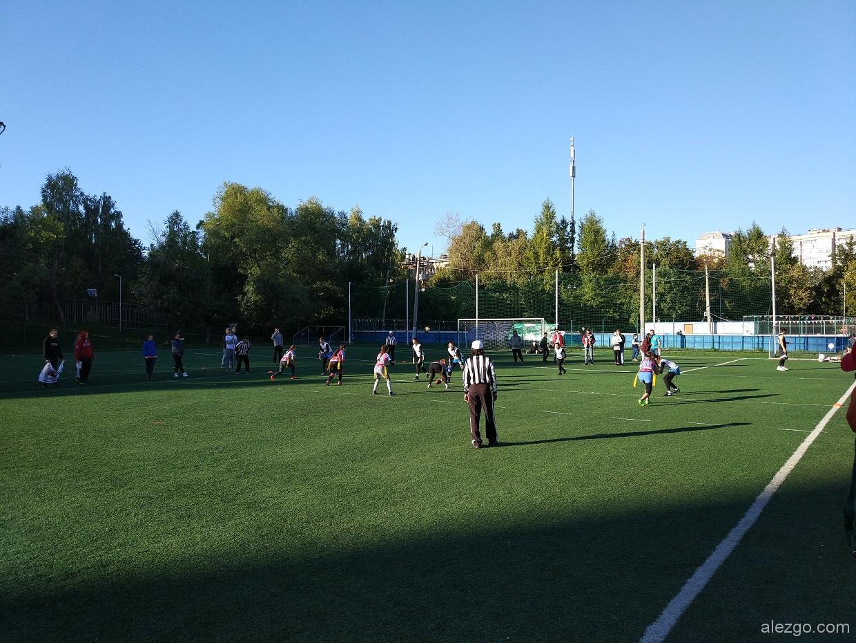 американский футбол в москве