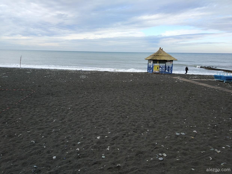 адлер пляж 2017 осень