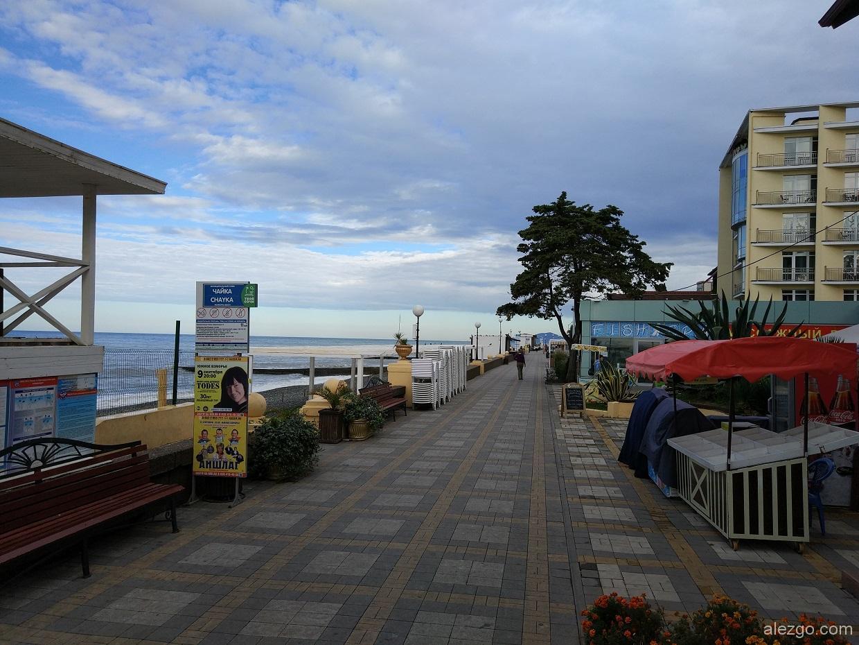Адлер пляжи фото города