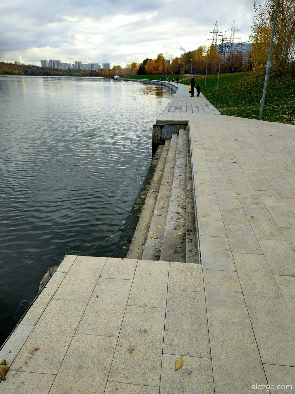 благоустройство парка 850-летия Москвы, парк 850 летия москвы