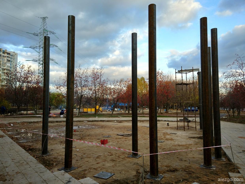 благоустройство парка 850-летия Москвы в Марьино завершено