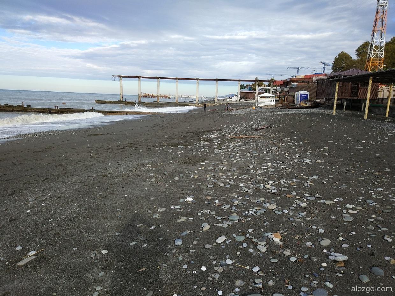 пляж адлер 2017