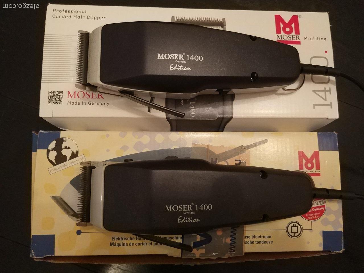 машинка для стрижки moser 1400 edition