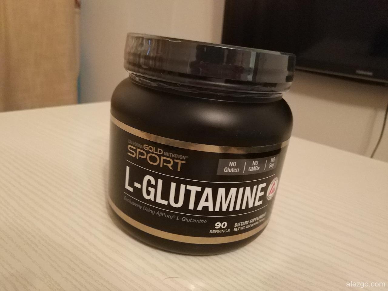 глютамин, от California Gold Nutrition