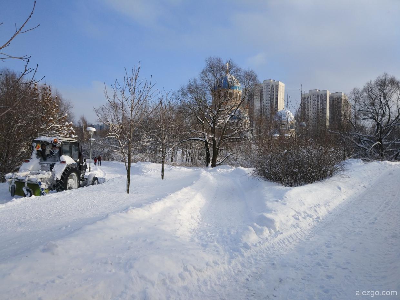 борисовские пруды, борисовские пруды зимой