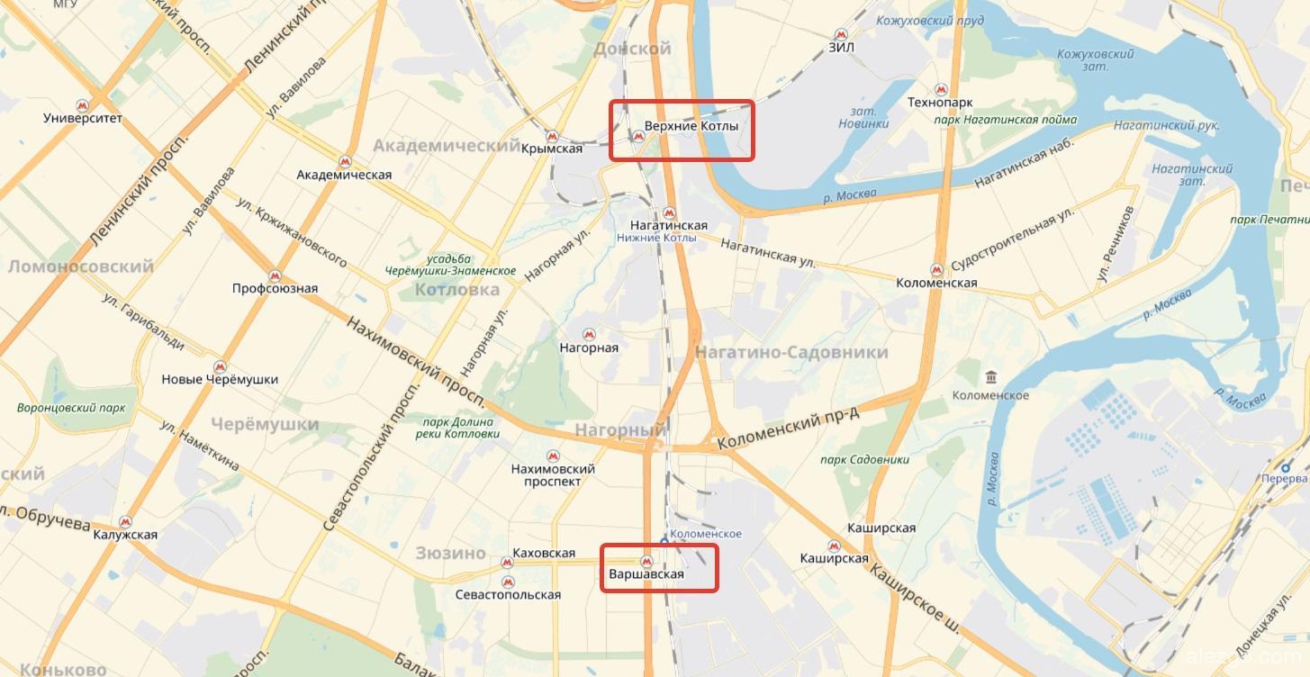 жд станция варшавская