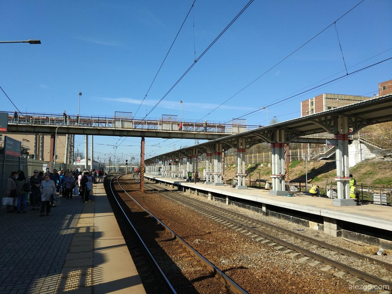 строят пассажирские платформы царицыно