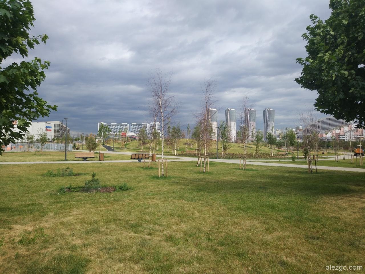 парк ходынское поле июнь 2018, ходынское поле благоустройство